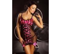 Эротическая сорочка с подвязками Lolitta Innocent, L/XL