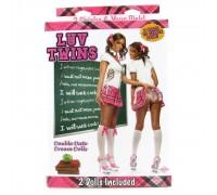 Куклы Близняшки - шаловливые студентки