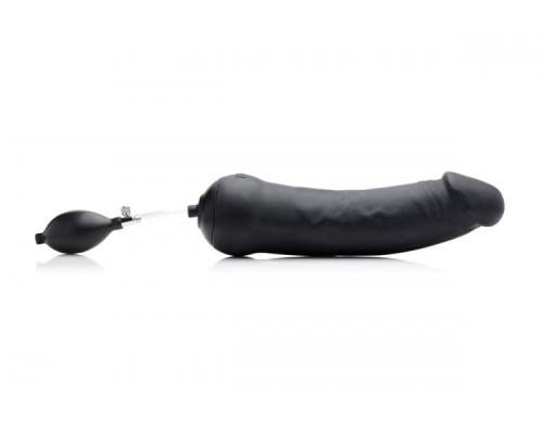 Tom of Finland Toms Inflatable Silicone Dildo - фаллоимитатор 33.6х10 см.