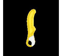 Satisfyer Vibes Yummy Sunshine - солнечный вибратор для точки G, 22.5х4 см (желтый)
