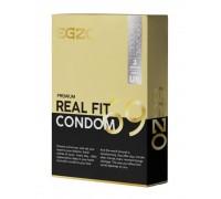 EGZO Real Fit№3 - анатомические облегающие презервативы