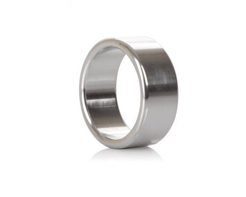 CalExotics Alloy Metallic Ring M - широкое металлическое эрекционное кольцо, 3,75 см