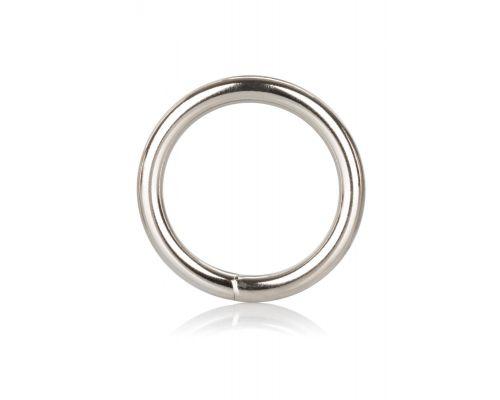 CalExotics Silver Ring Medium - металлическое эрекционное кольцо, 3,8 см
