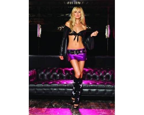 Leg Avenue LEG28043LBL - Бесподобная юбка L, (черный)