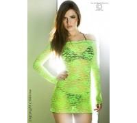 Эротическое мини-платьице Chilirose (зеленый S)