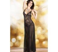 Chilirose CR3470 BL M - Эротичное платье Chilirose M, (черный)