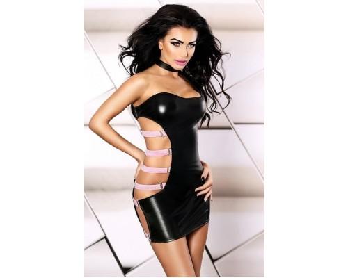 Соблазнительное платье Lolitta Pose dress S/M (черный)