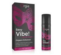 Orgie Sexy Vibe! Intense Orgasm - возбуждающий гель, жидкий вибратор, 15 мл