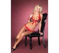 Leg Avenue LEG81338B/F - Секси комплект Сладкий Сон (розовый)