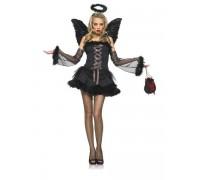 Leg Avenue Dark Angel LEG83432M/L - Костюм Темного ангела искусителя M/L, (черный)