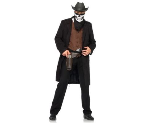 Leg Avenue Reaper Cowboy LEG83698XL - Костюм Ковбоя XL, (черный)