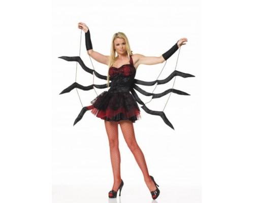 Leg Avenue Black Widow LEG83114M/L - Костюм Черной Вдовы M/L, (черный)