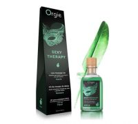 Orgie Lips Massage Kit Apple - массажное масло яблоко, 100 мл