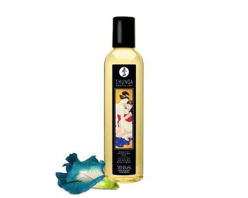 Shunga Erotic Massage Oil Island Blossoms - массажное масло с цветочным ароматом, 240 мл