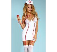 Dolce Piccante эротический костюм соблазнительной медсестры (L/XL)