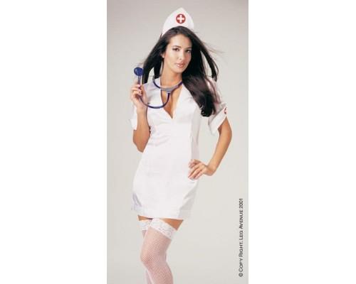 Leg Avenue LEG8589M/L - Костюм страстной Медсестры M/L, (белый)