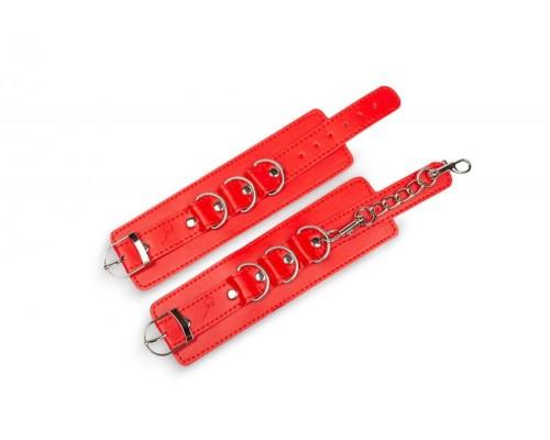 Пикантные штучки - фиксаторы с цепочкой, 29.5х5.5 см.
