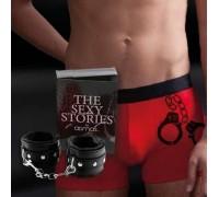 Комплект Admas мужские трусы и наручники (M)