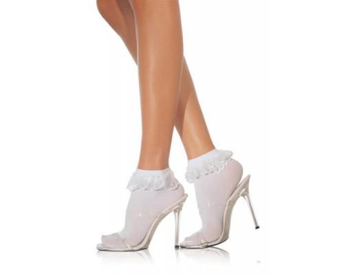 Leg Avenue LEG3013R - Аккуратные симпатичные носочки, OS, (красные)