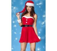 Новогодний костюмчик Christmas Set (белый с красным)