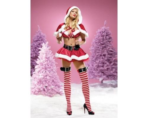 Leg Avenue LEG53054M - Костюм Santa Claus M, (красный)
