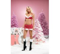 Leg Avenue LEG53058M - Костюм Sexy Santa M, (красный)