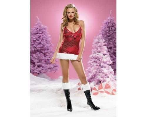 Leg Avenue LEG83386M - Платье М, (красный)