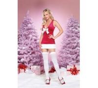 Leg Avenue Christmas Holly LEG83598M/L - Костюм Рождество Холли M/L, (красный)
