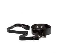 CalExotics Diamond Leash and Collar Set - ошейник с поводком