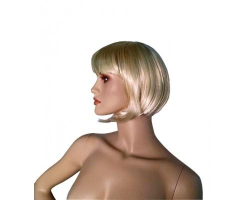 Женский парик боб каре (каштановый)
