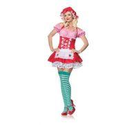 Leg Avenue Country Girl LEG83555S/Mr/p - Платье Деревенской Девушки S/M, (розовый)