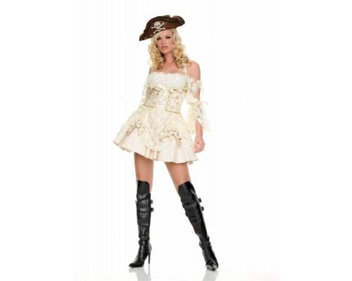 Leg Avenue LEG83227M - Костюм Пирата M, (белый)