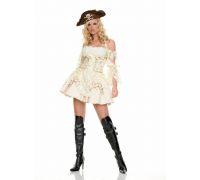 Leg Avenue LEG83227L - Костюм Пирата L, (белый)