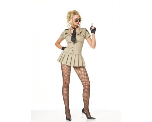 Leg Avenue LEG83113L - Платье Шерифа L, (бежевый)