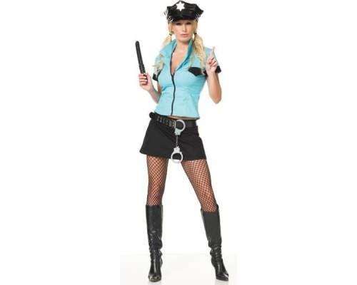 Leg Avenue LEG83134M - Костюм Офицер полиции М, (голубой)