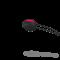 Fun Factory SmartBall Uno - Вагинальный шарик , 4.5х3.6 см (черный с серым)