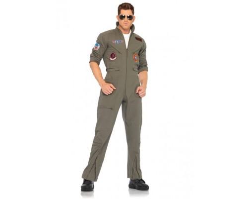 Leg Avenue Flight Suit Flight Suit LEGTG83702XL - Летный костюм XL, (бежевый)