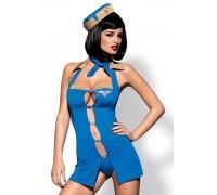 Эротический костюм Obsessive Air hostess (L/XL)