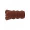 Hidden Desire Bangers Super Wet Travel Beaver - реалистичный мастурбатор 13,5х1см (коричневый)