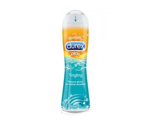 Durex Play Tingle лубрикант на водной основе с охлаждающим эффектом, 50 мл