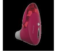 Womanizer W500 - вакуумный стимулятор клитора с кристаллом Swarovski, 12х6 см (розовый)