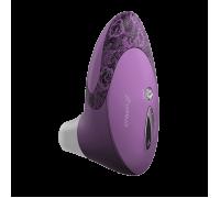 Womanizer W500 - вакуумный стимулятор клитора с кристаллом Swarovski, 12х6 см (сиреневый)
