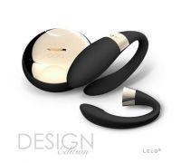 Lelo Tiani 2 Design Edition - Вибратор для пары, 9х3 см (черный)