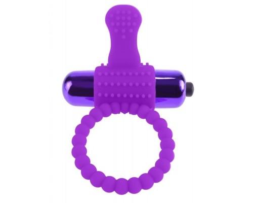 Насадка Fantasy C Ring Vibro Super Ring (фиолетовый)