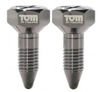 Tom of Finland Screw U II Magnetic Nipple Clamps - зажимы украшение для сосков