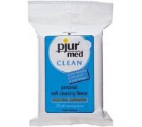 Влажные салфетки pjur med CLEAN (25 шт) для интимной гигиены