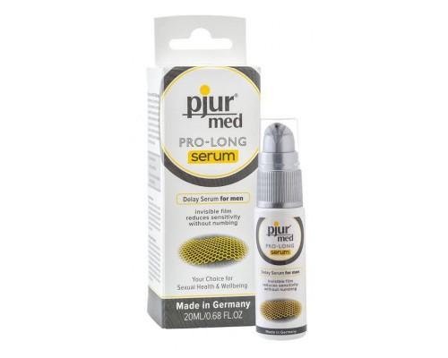 Пролонгирующий гель-смазка для мужчин pjur MED Pro-long Serum 20 мл