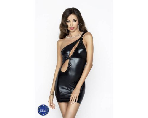 Вечернее эротическое платье Passion Erotic Line CORNELIA DRESS черное
