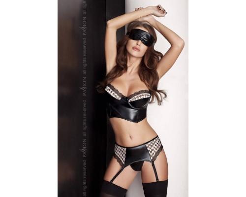 Женский эротический комплект Passion VIRGIN SET черный