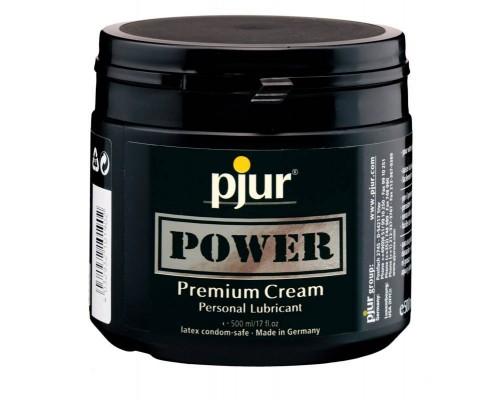 Смазка для фистинга pjur POWER Premium Cream 500 мл